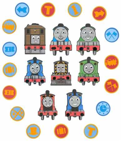 Wanddekoration THOMAS & FRIENDS
