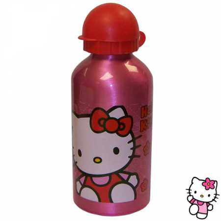 Trinkflasche Aluminium 500 ml HELLO KITTY