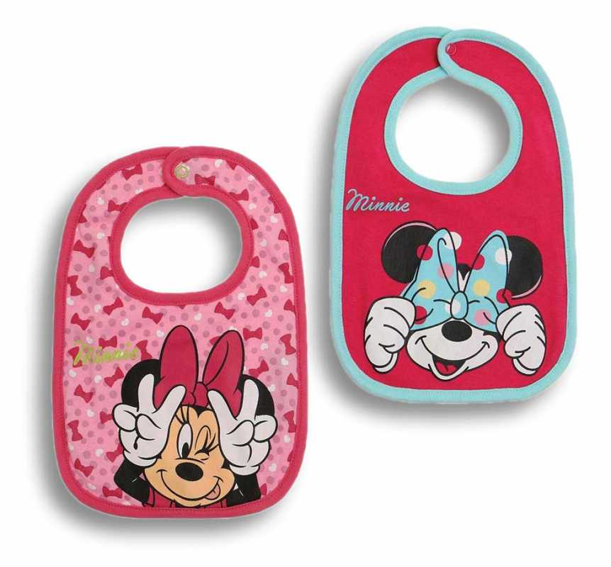 Disney MINNIE MAUS 2 er Pack Lätzchen
